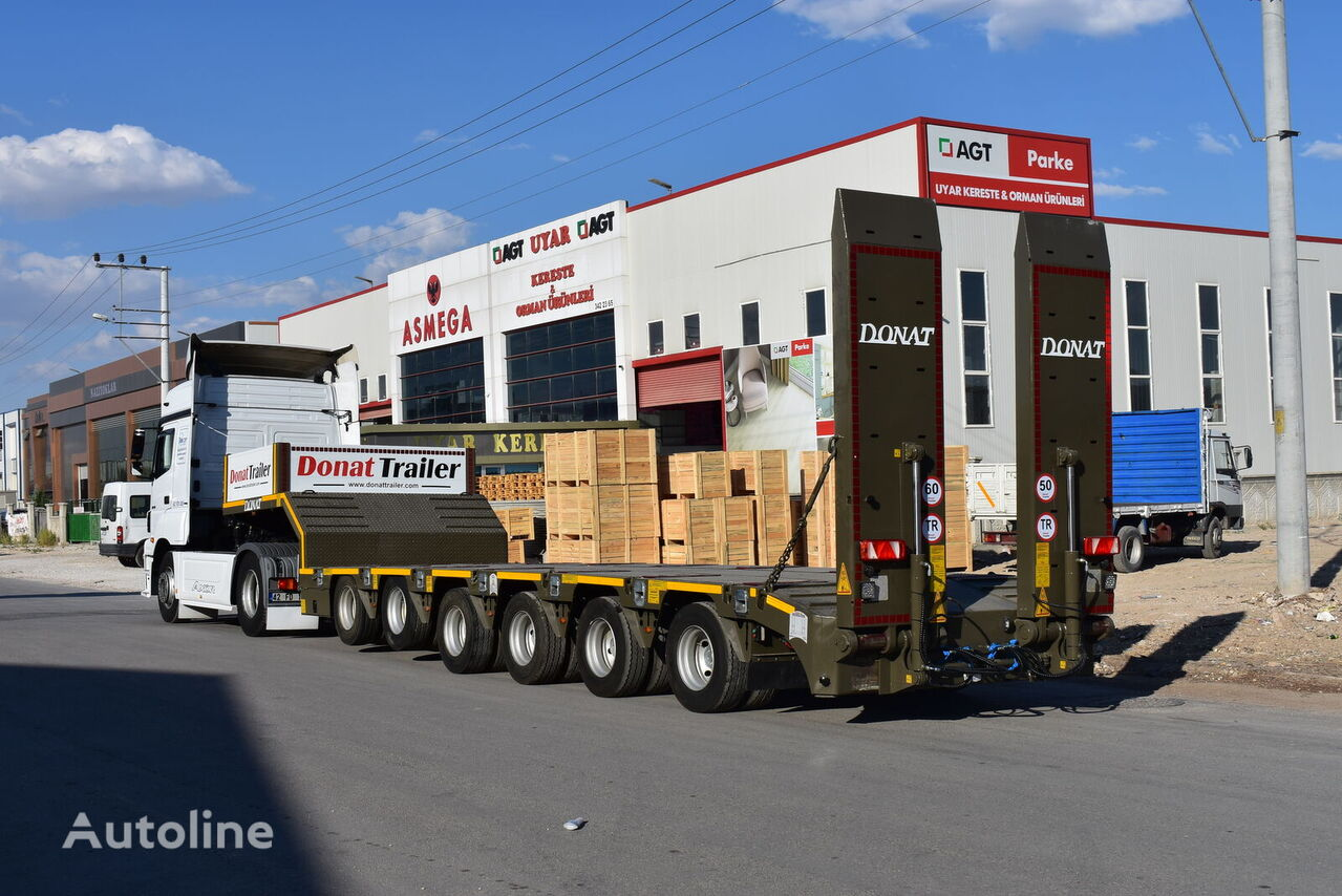 new DONAT 6 axle heavy duty lowbed semitrailer low bed semi-trailer