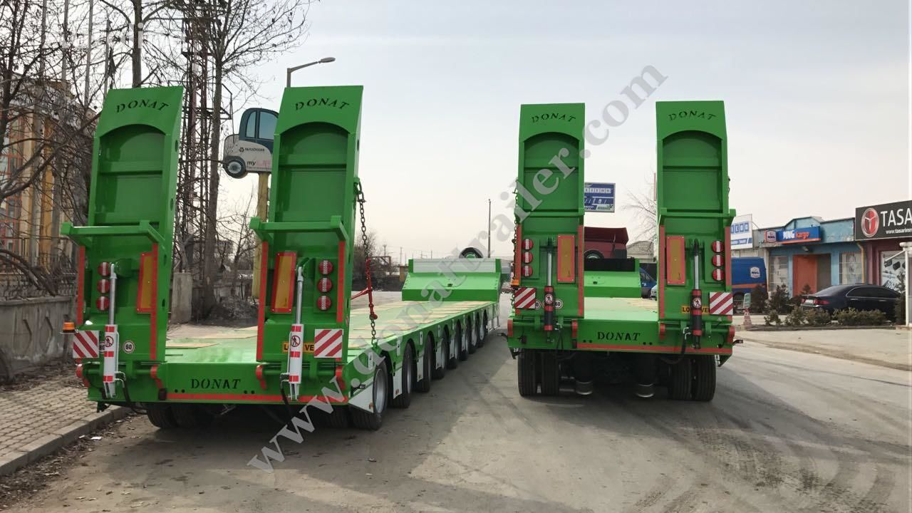 DONAT Extendable Heavy Duty Lowbed low bed semi-trailer
