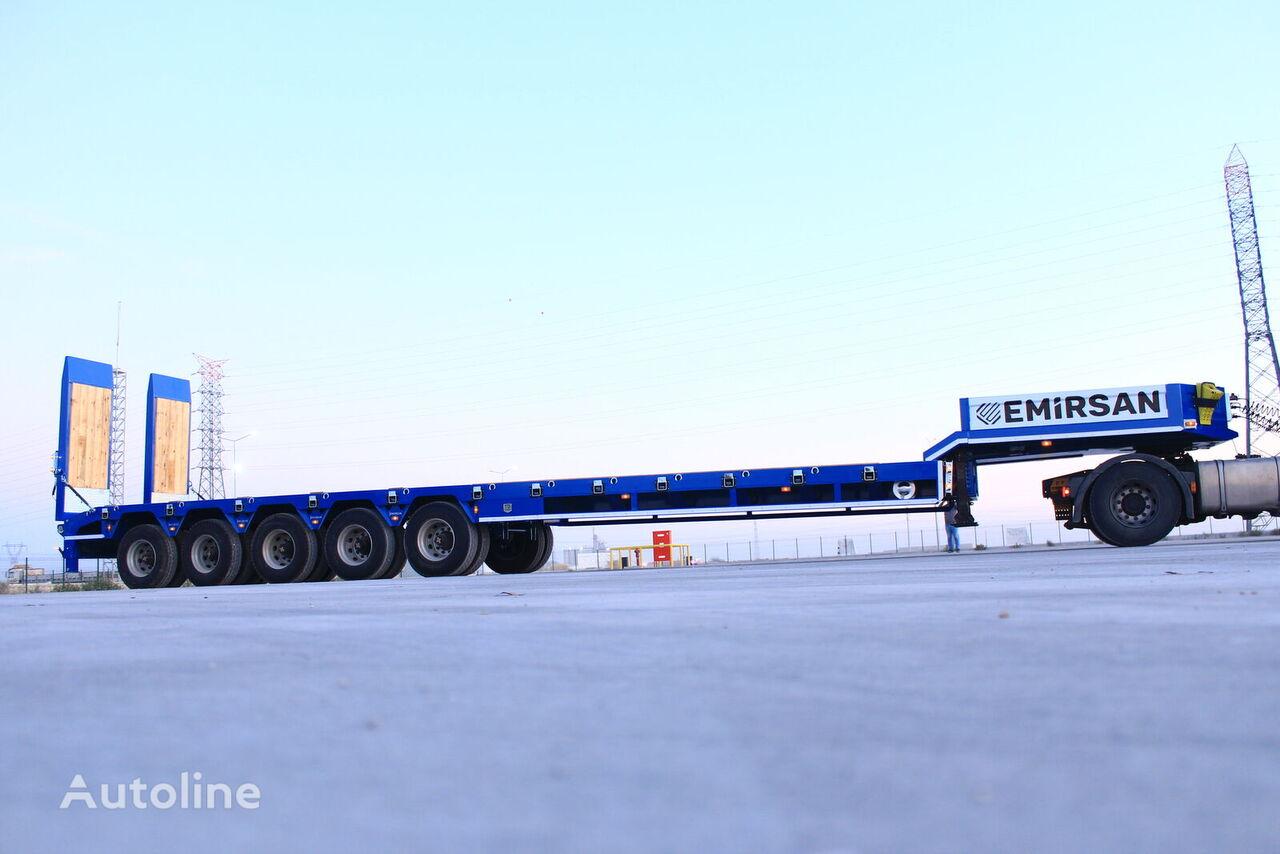 new EMIRSAN 5 Axle Heavy Duty 2021 Custom Made low bed semi-trailer