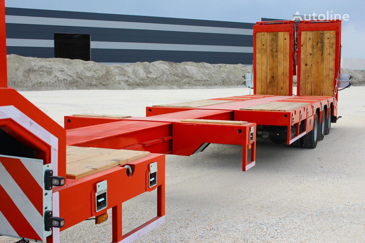 new EMIRSAN Lowbed Trailer 3 Axle Extendable Platform low bed semi-trailer