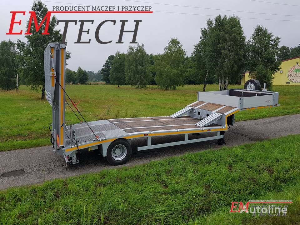 new EMTECH 1.NNZ-S (NHP) low bed semi-trailer