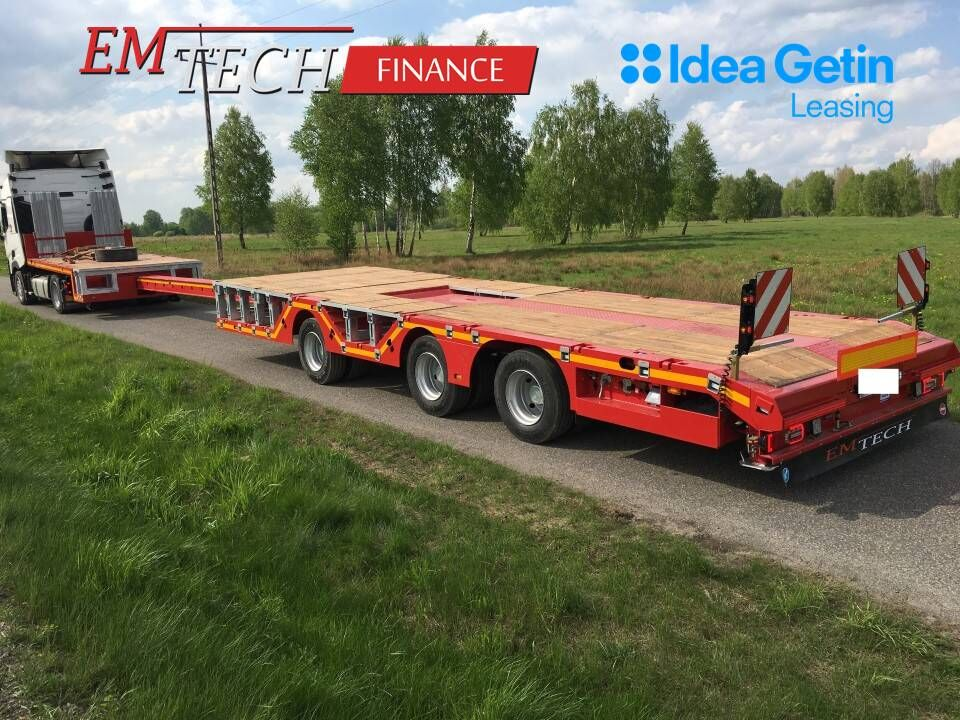 new EMTECH 3.NPZ-1R-1N-PP (2Z,NA) low bed semi-trailer