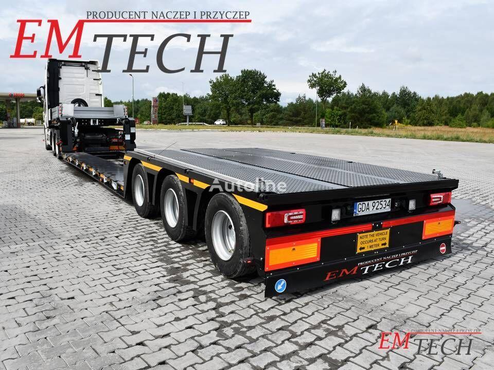 new EMTECH SERIA NNT model 3.NNT-1R-3H (2B, OS) - Odpinana Gęsia Szyja low bed semi-trailer