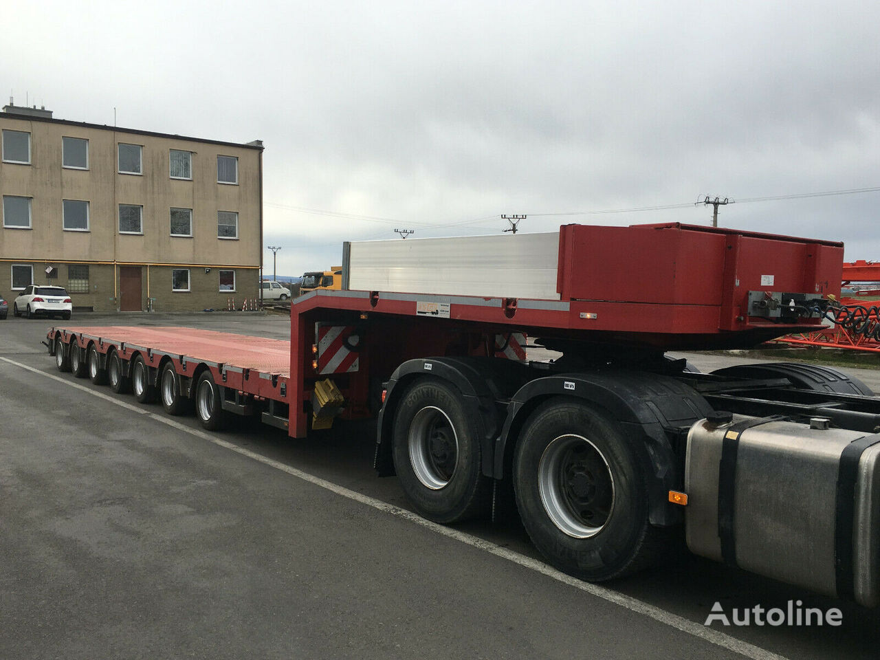 ES-GE 7.SOU-4N low bed semi-trailer