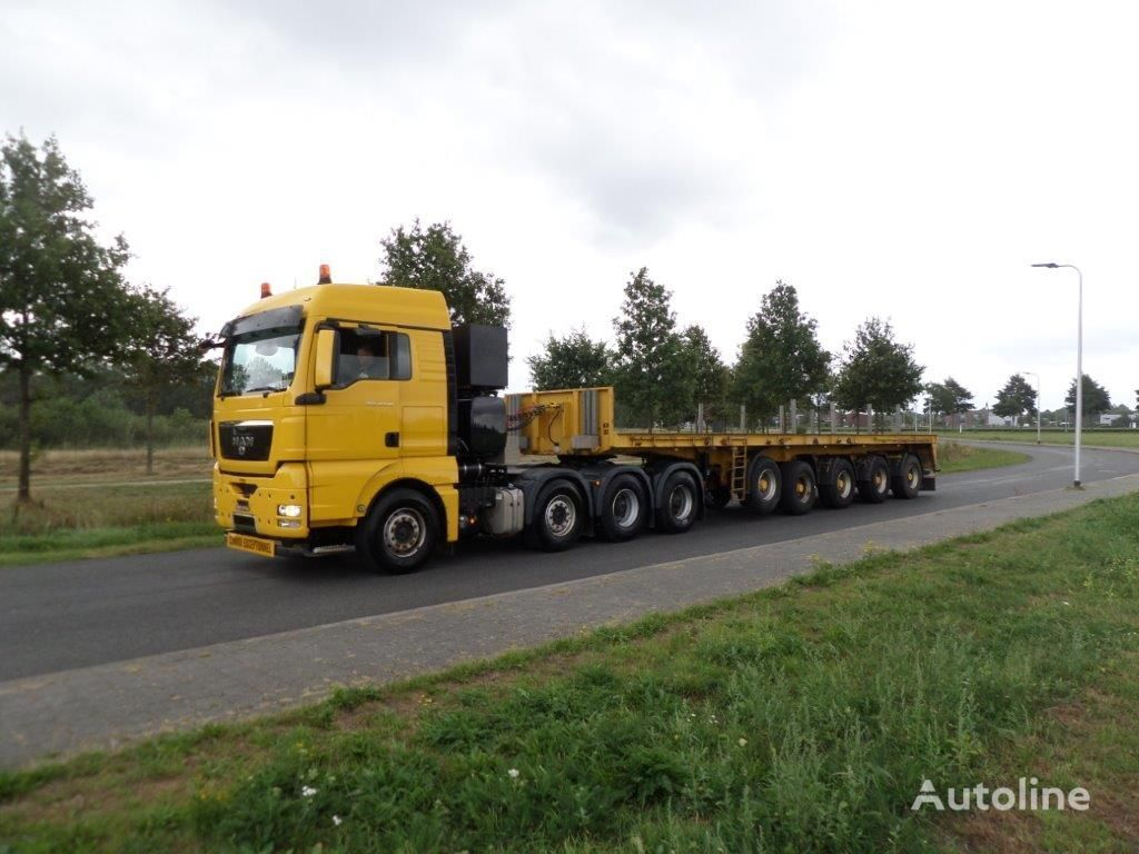 ES-GE BAL-NA5 Ballast Trailer low bed semi-trailer