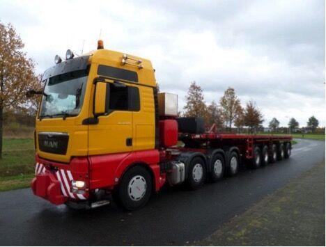 FAYMONVILLE Faymonville SPNZ – 5 Ballast trailer low bed semi-trailer