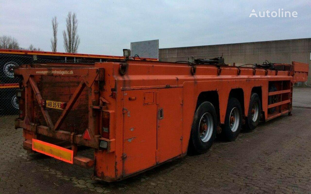 FAYMONVILLE Innenlader  beton low bed semi-trailer