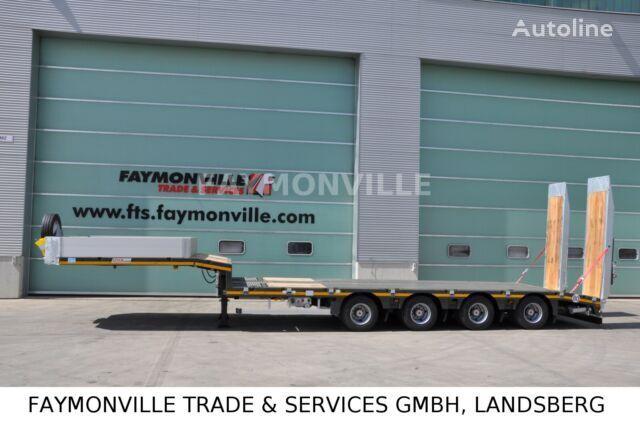 new FAYMONVILLE MAX TRAILER MAX100 4A 8.60 U low bed semi-trailer