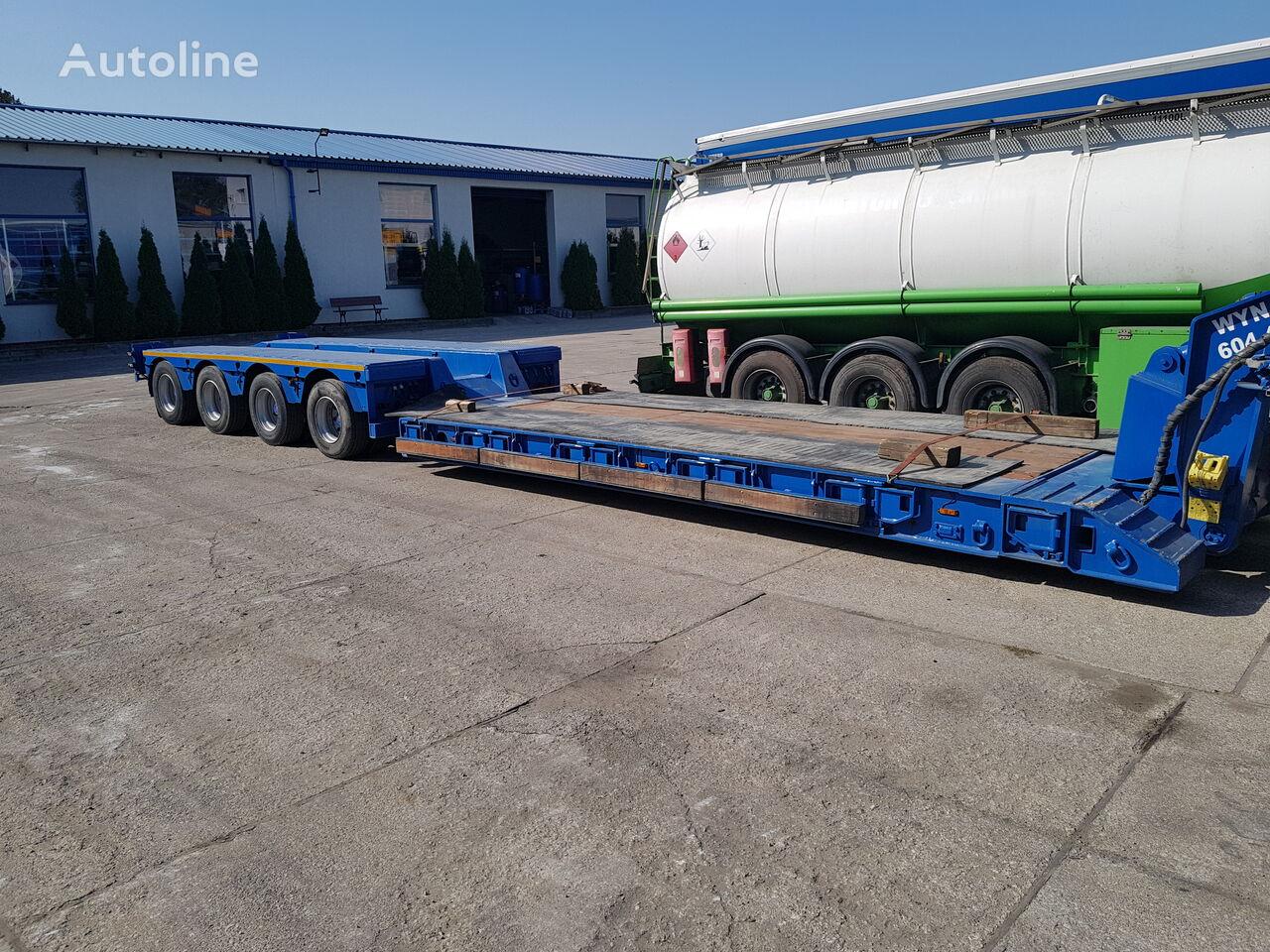 FAYMONVILLE ModelSTBZ-4VA low bed semi-trailer