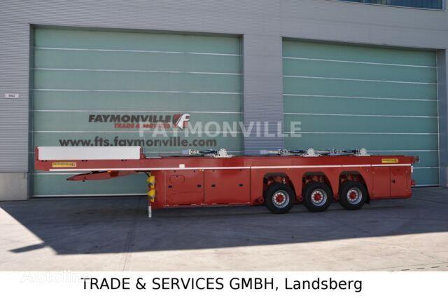new FAYMONVILLE PREFAMAX 3HH-18-9.50-22.5-2.55-HD low bed semi-trailer