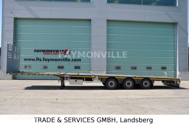new FAYMONVILLE Plateauauflieger MAX200-N-3A-13.60-19.5-2.54 low bed semi-trailer