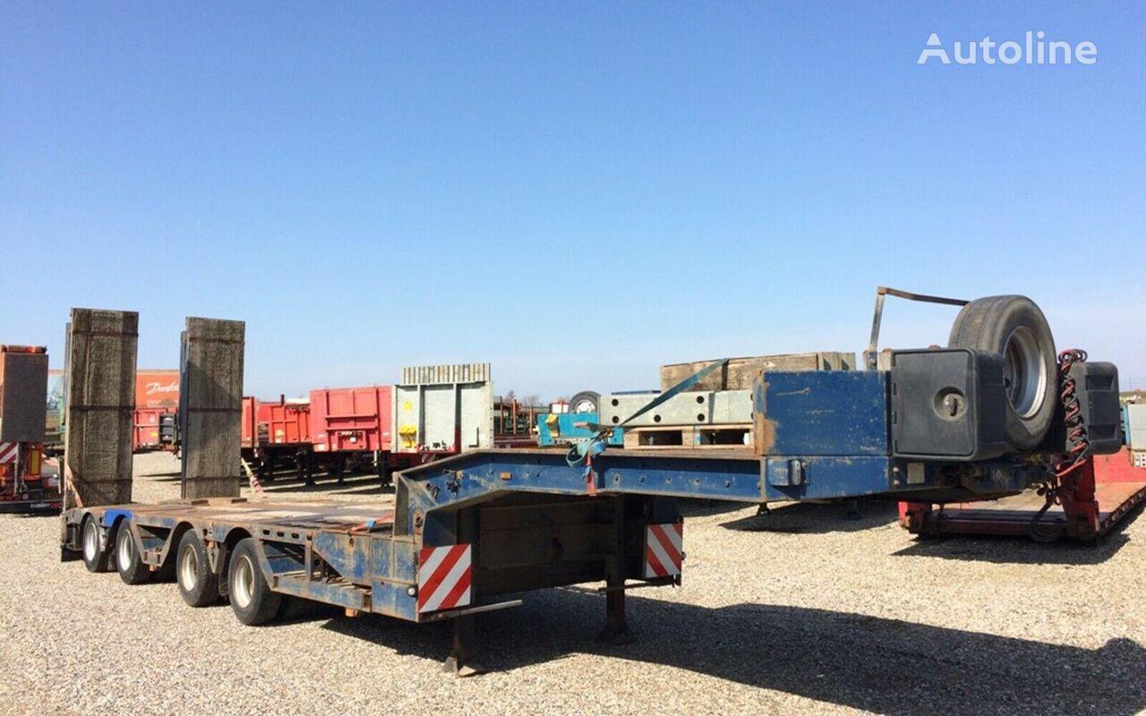 FAYMONVILLE Radmulden low bed semi-trailer