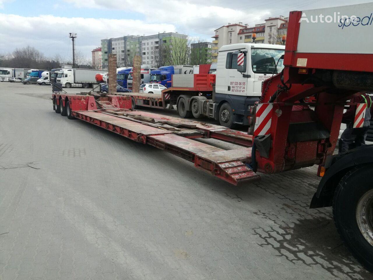 FAYMONVILLE STBZ-3 low bed semi-trailer