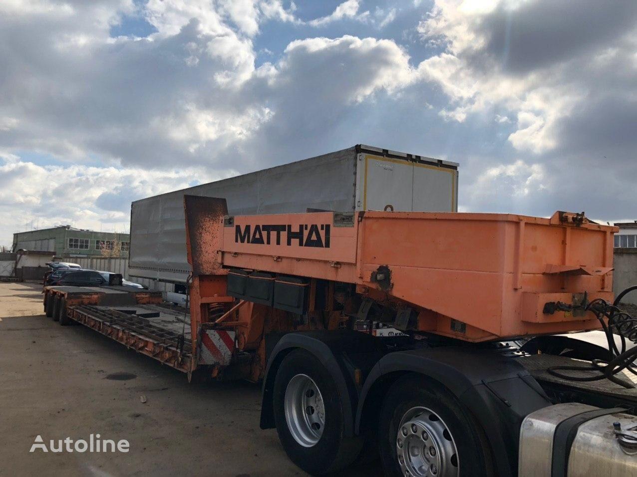 FAYMONVILLE STBZ.3VA low bed semi-trailer