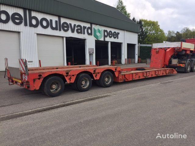FAYMONVILLE STBZ-3VA, KESSELBRUCKE mit herausnehmbare boden low bed semi-trailer