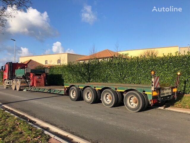 FAYMONVILLE STBZ-4VA, Extensible, AIR SUSPENSION low bed semi-trailer
