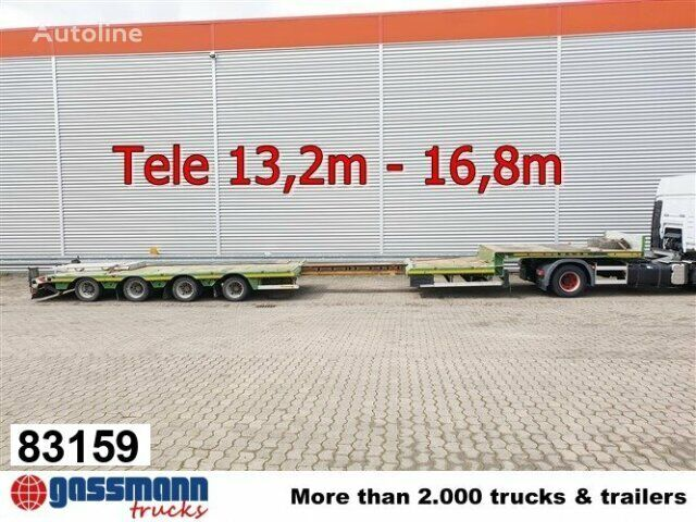 FAYMONVILLE STN-4AX STN-4AX, Ausziehbar auf 16,8m, 2x Lenkachse low bed semi-trailer