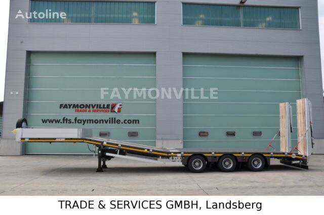 new FAYMONVILLE Satteltieflader MAX100-N-3B-9.30-U low bed semi-trailer