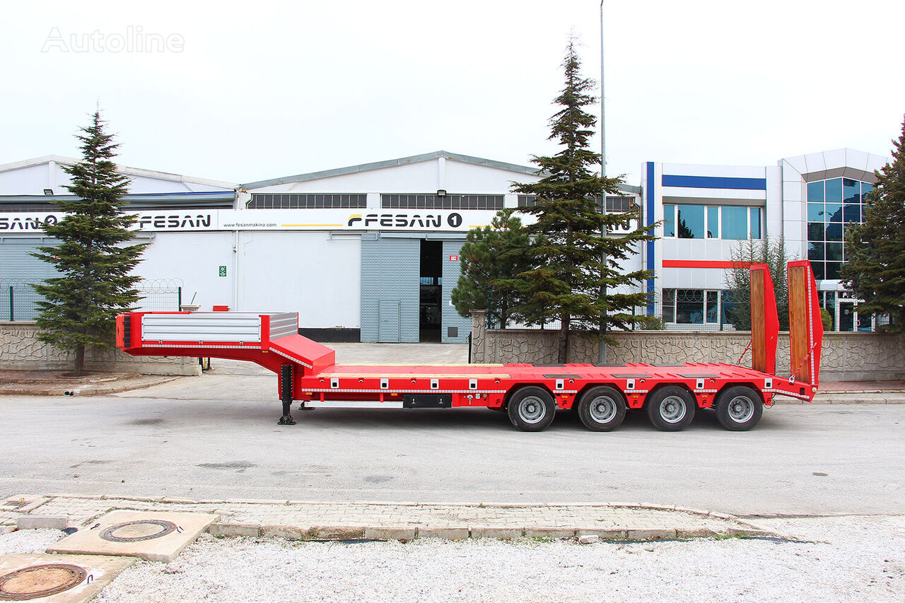 new FESAN low bed semi-trailer