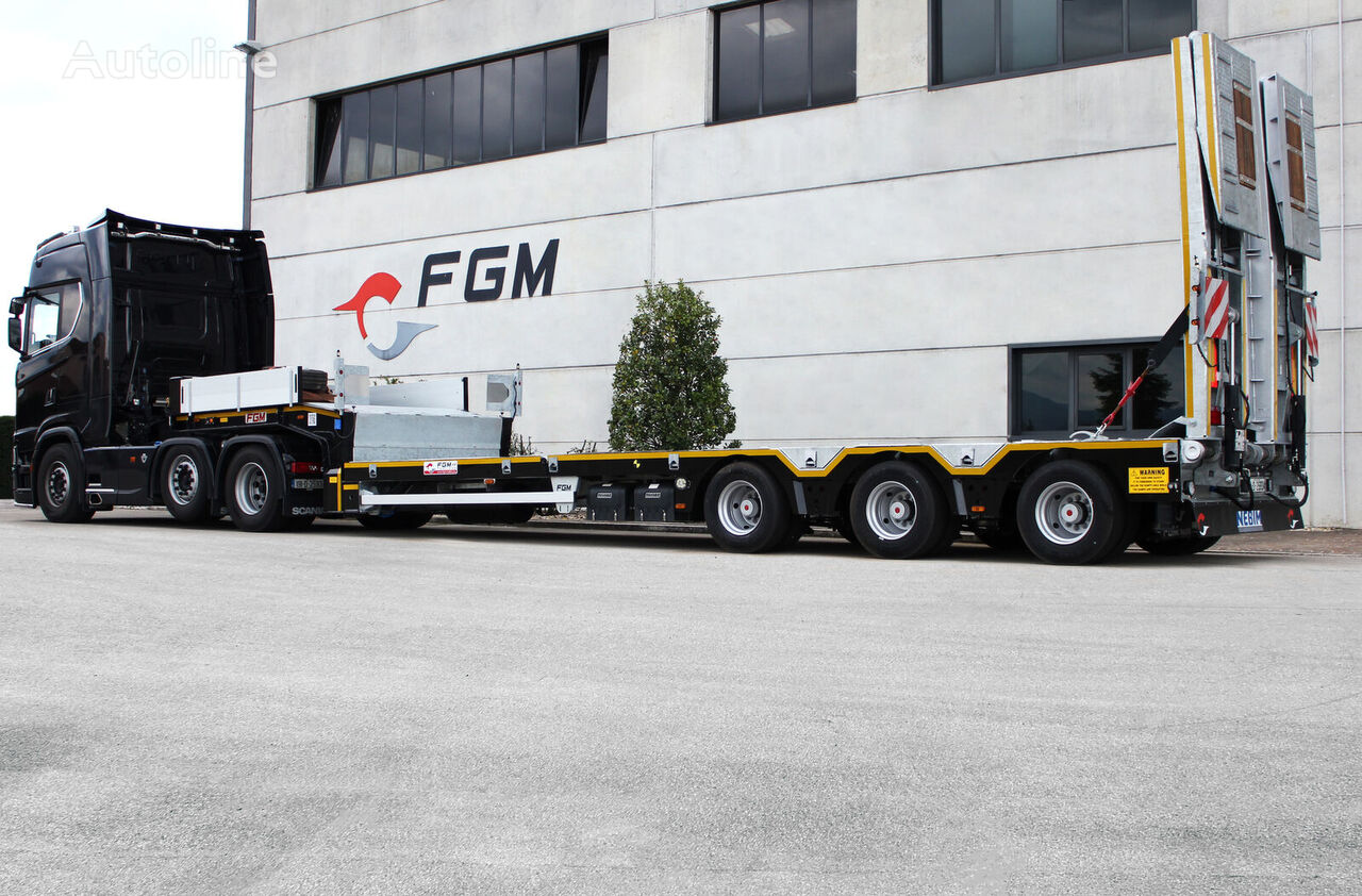 new FGM 37 low bed semi-trailer