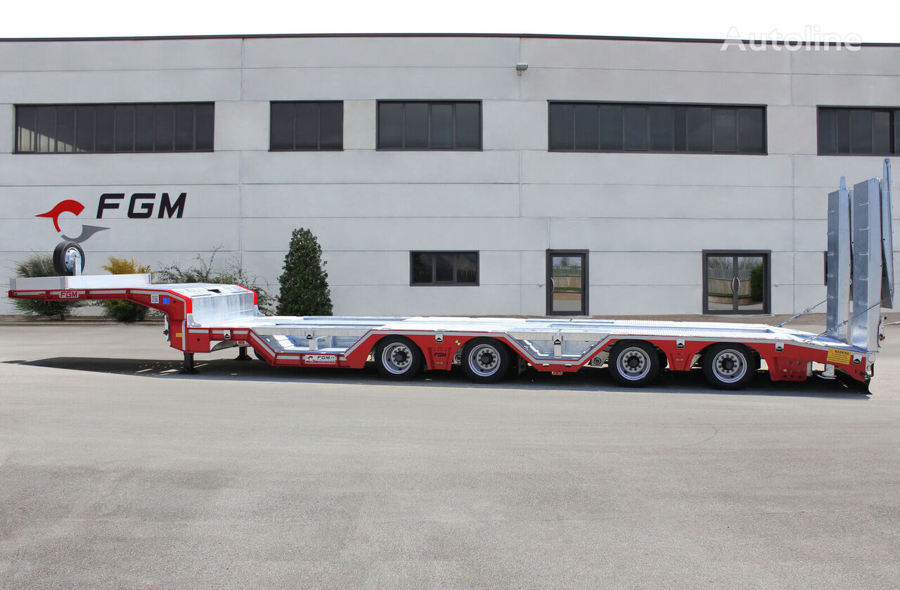 new FGM 38 WL low bed semi-trailer
