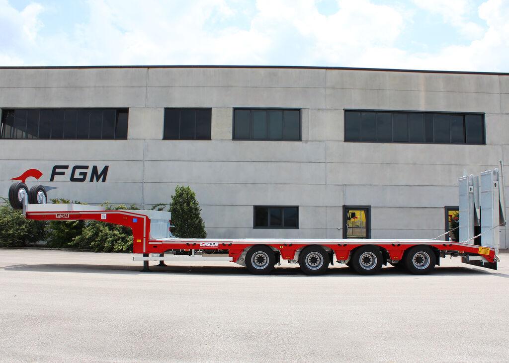 new FGM 56 AF low bed semi-trailer