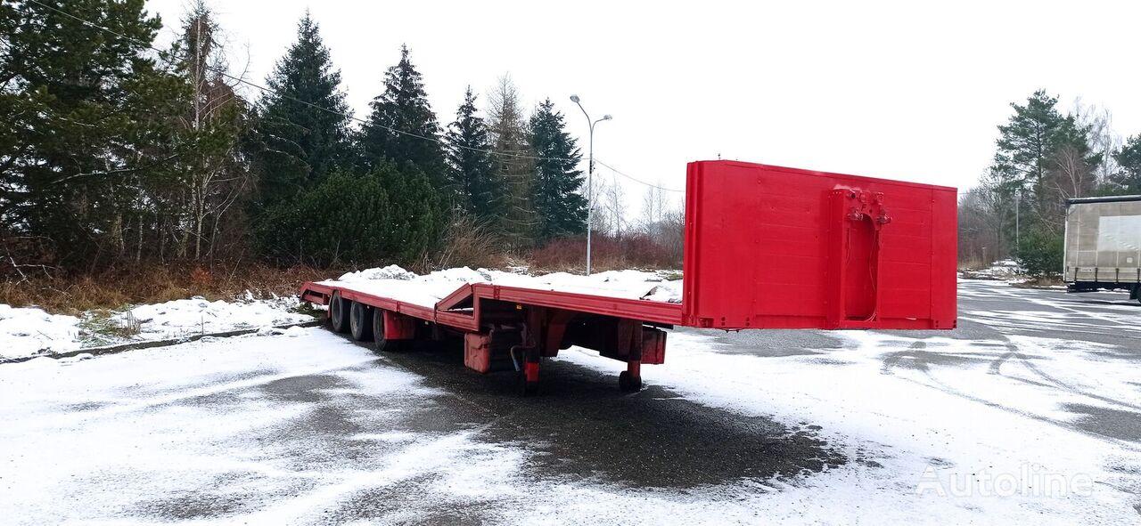FLIEGL SDS 350 JUMBO low bed semi-trailer