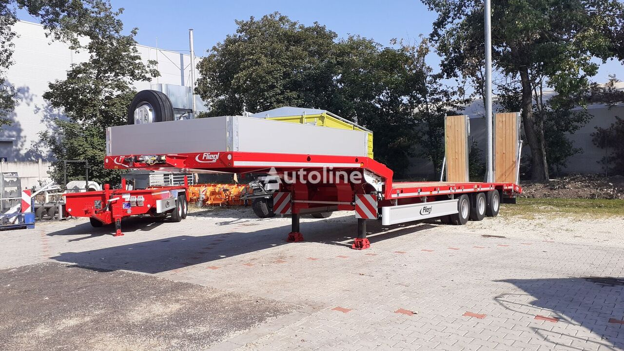 new FLIEGL  SDS 470  low bed semi-trailer
