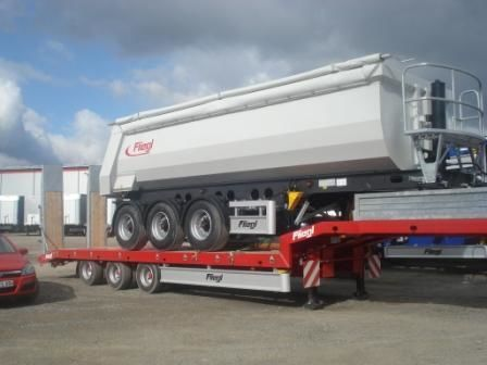FLIEGL SDS 470 T low bed semi-trailer