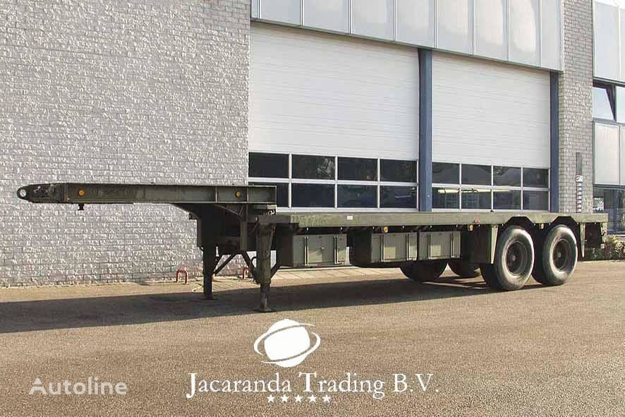 FLOOR FLDO-10-18 low bed semi-trailer