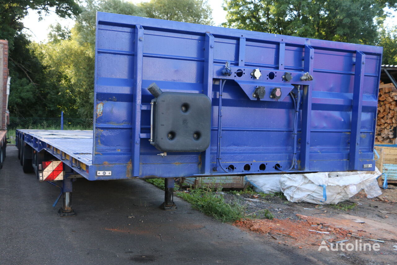 GOLDHOFER SPN-L3A 34/80 extendable 3 axle semi-trailer low bed semi-trailer
