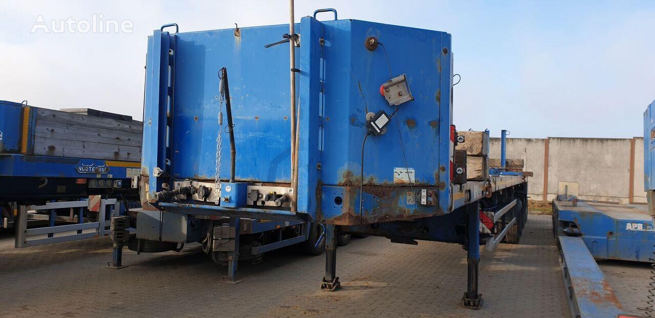 GOLDHOFER SPZ-DH-4AA low bed semi-trailer