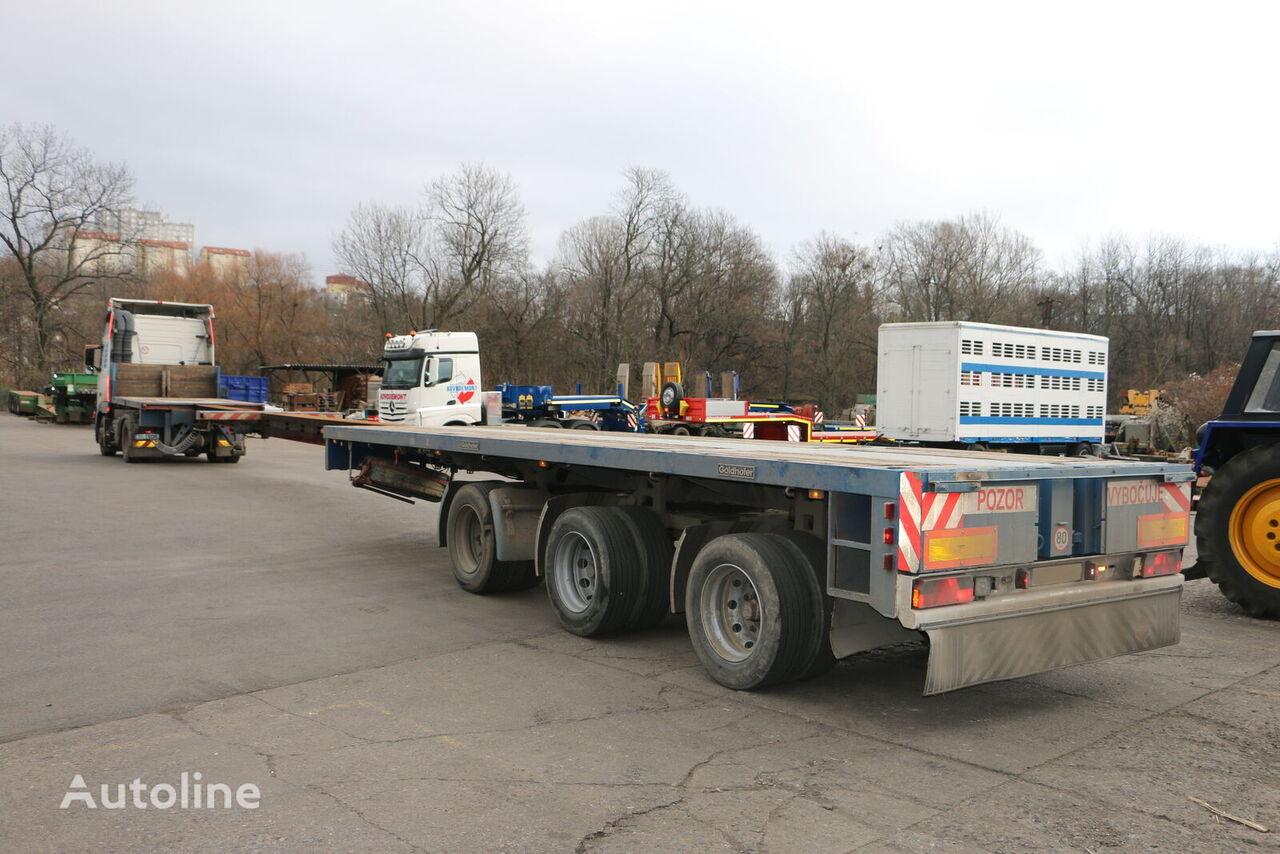 GOLDHOFER SPZ DL3 - 36/80AA  2x extendable low bed semi-trailer