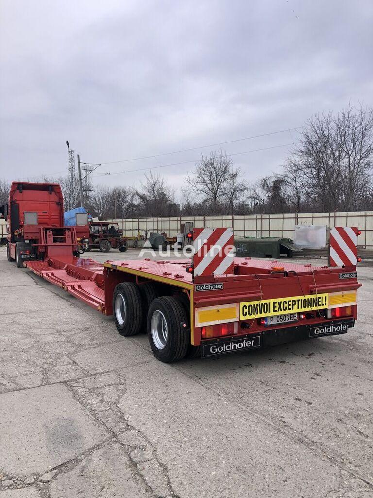 GOLDHOFER STZ 2 2180 low bed semi-trailer