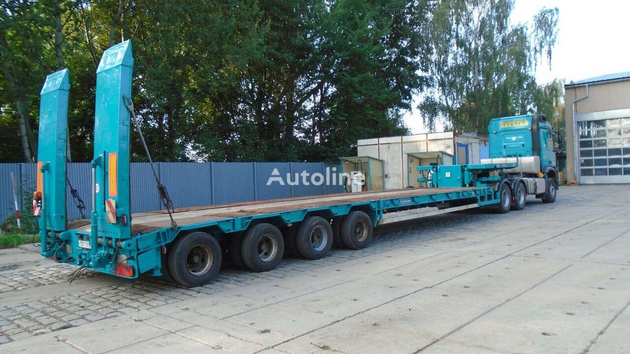 GOLDHOFER STZ L4 41/80 varianta AA F2 low bed semi-trailer
