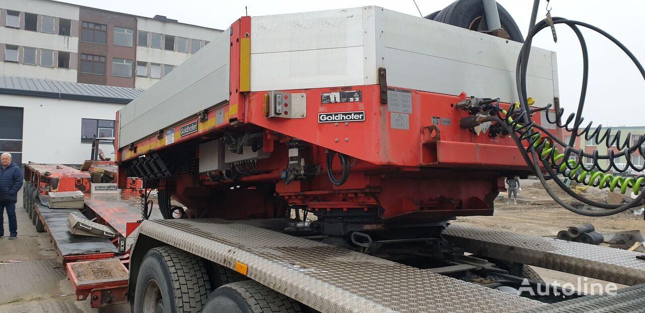 GOLDHOFER STZ-VH8 80/80A - 3+5 low bed semi-trailer