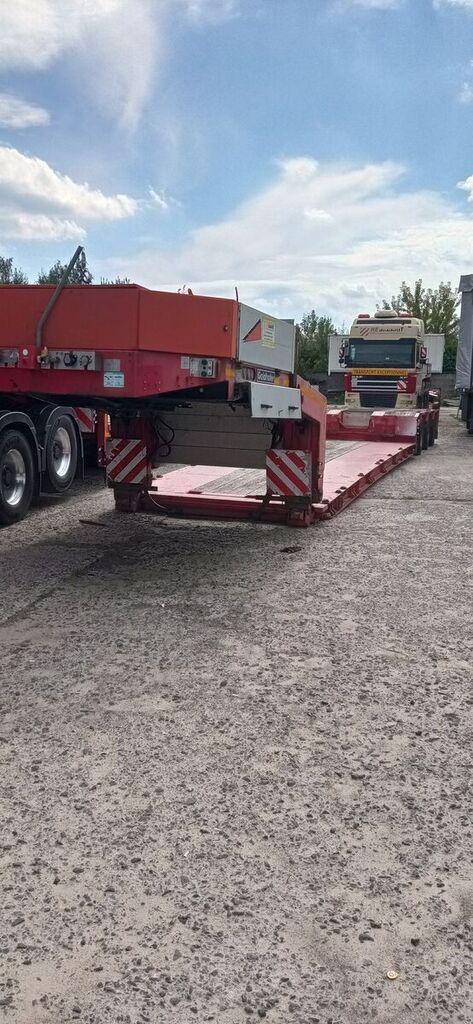 GOLDHOFER STZ VL low bed semi-trailer
