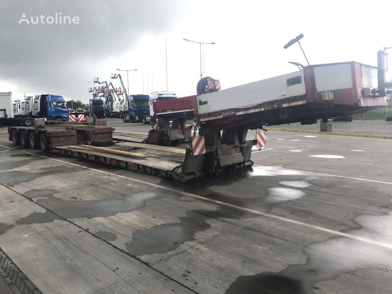 GOLDHOFER STZ-VL4-A low bed semi-trailer