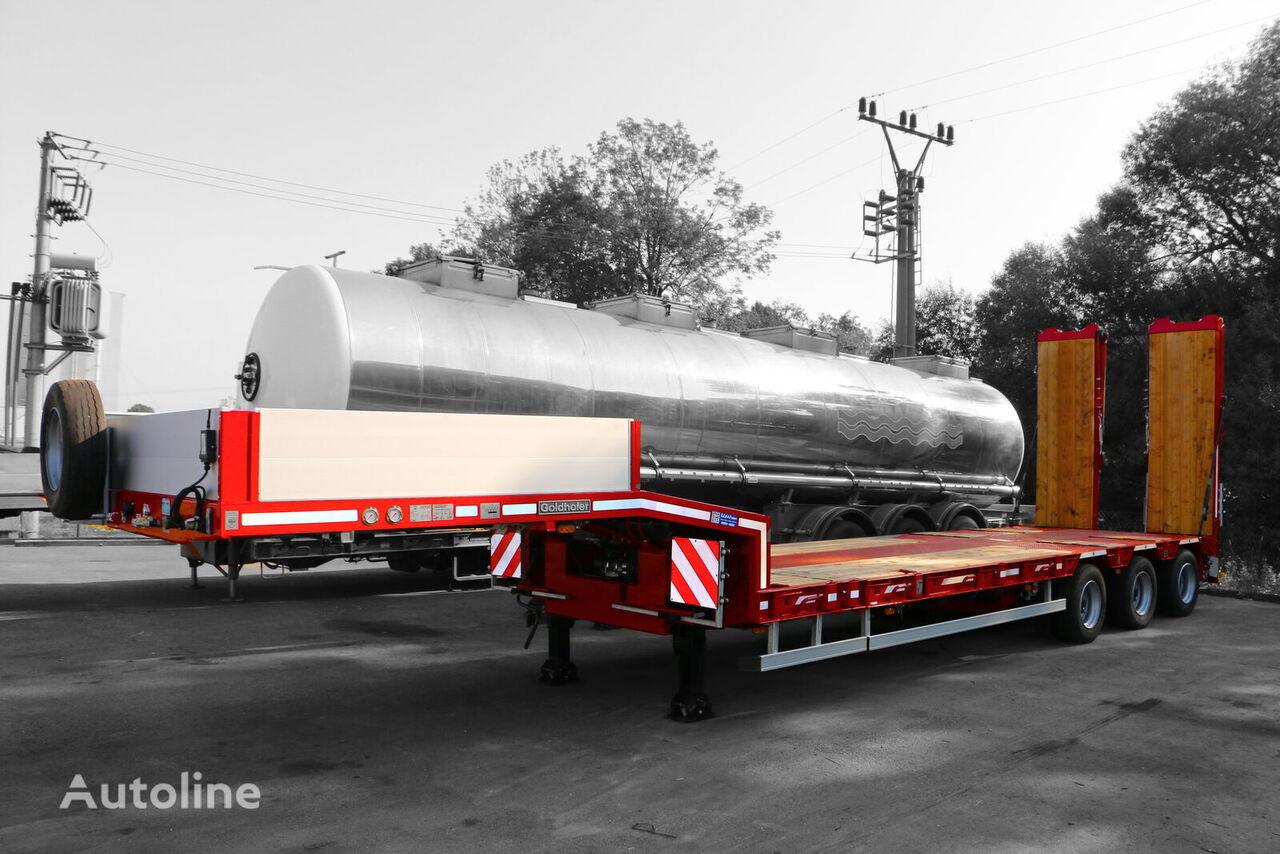 GOLDHOFER STZ_L3A low bed semi-trailer