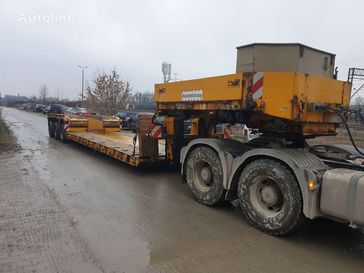GOLDHOFER Tiefbett STHP/XLE3 low bed semi-trailer