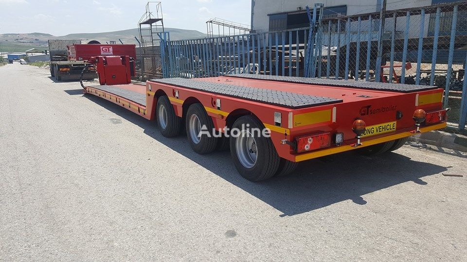 new GURLESENYIL 3 axles low bed semi trailers  low bed semi-trailer