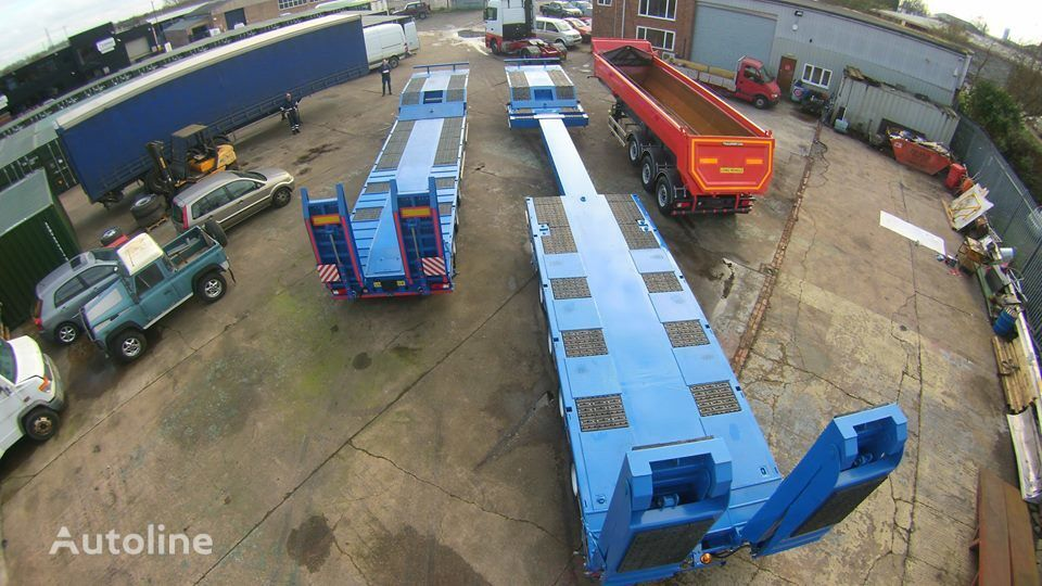 new GURLESENYIL 4 axles low bed semi trailers  low bed semi-trailer