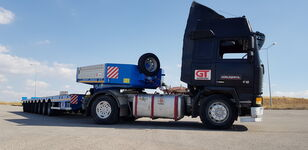 new GURLESENYIL hydraulic low loader low bed semi-trailer