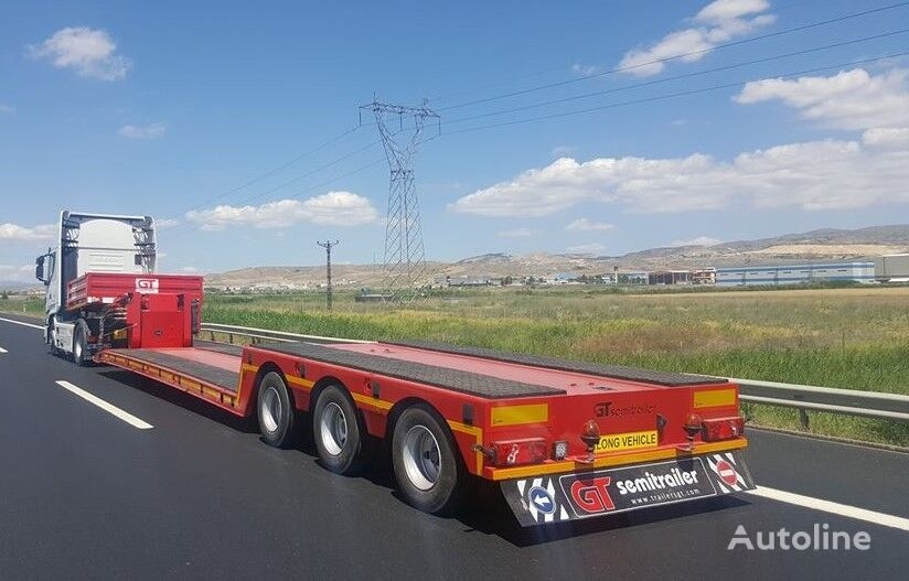 new GURLESENYIL lowbed semi trailers low bed semi-trailer