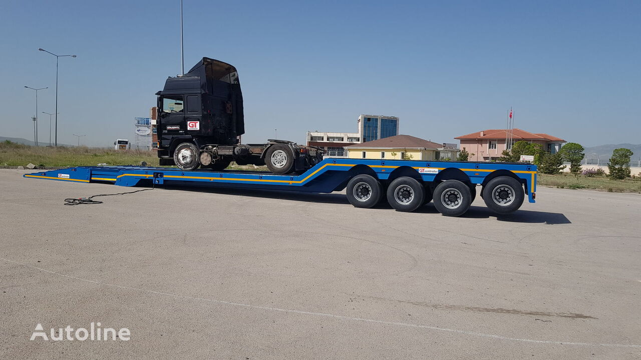 new GURLESENYIL lowboy  low bed semi-trailer
