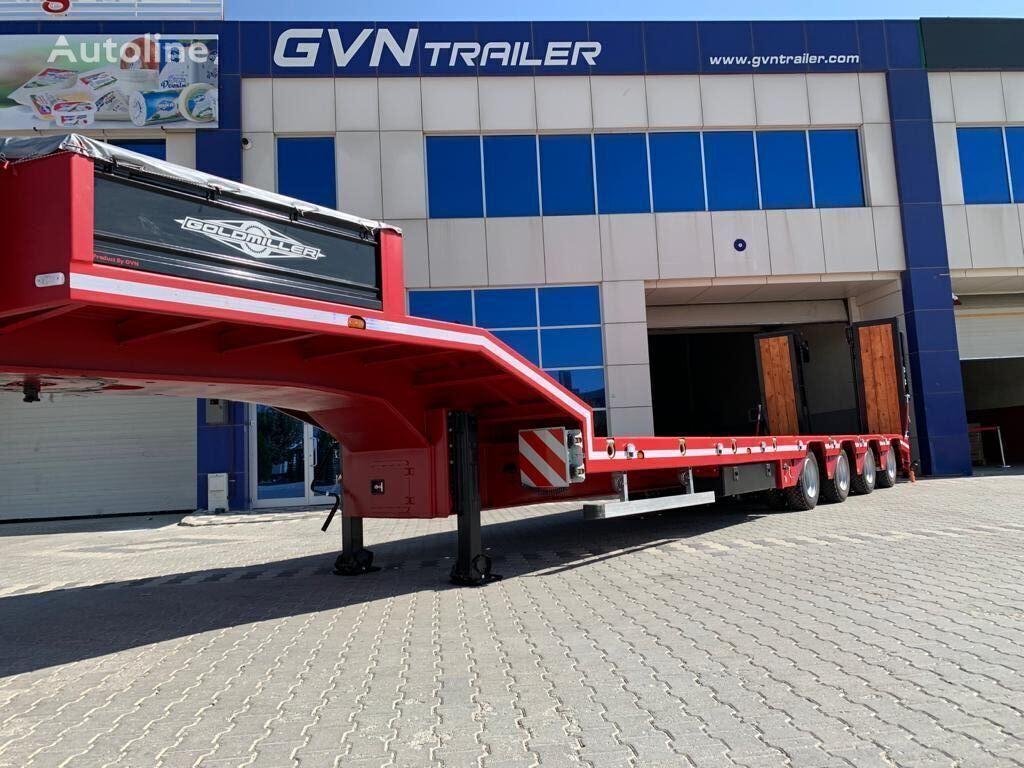 new GVN TRAILER GVN low bed semi-trailer