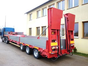 new JANMIL low laoder with alu boards low bed semi-trailer