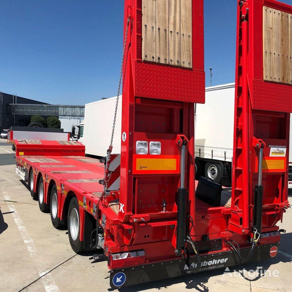 new KASSBOHRER low bed semi-trailer