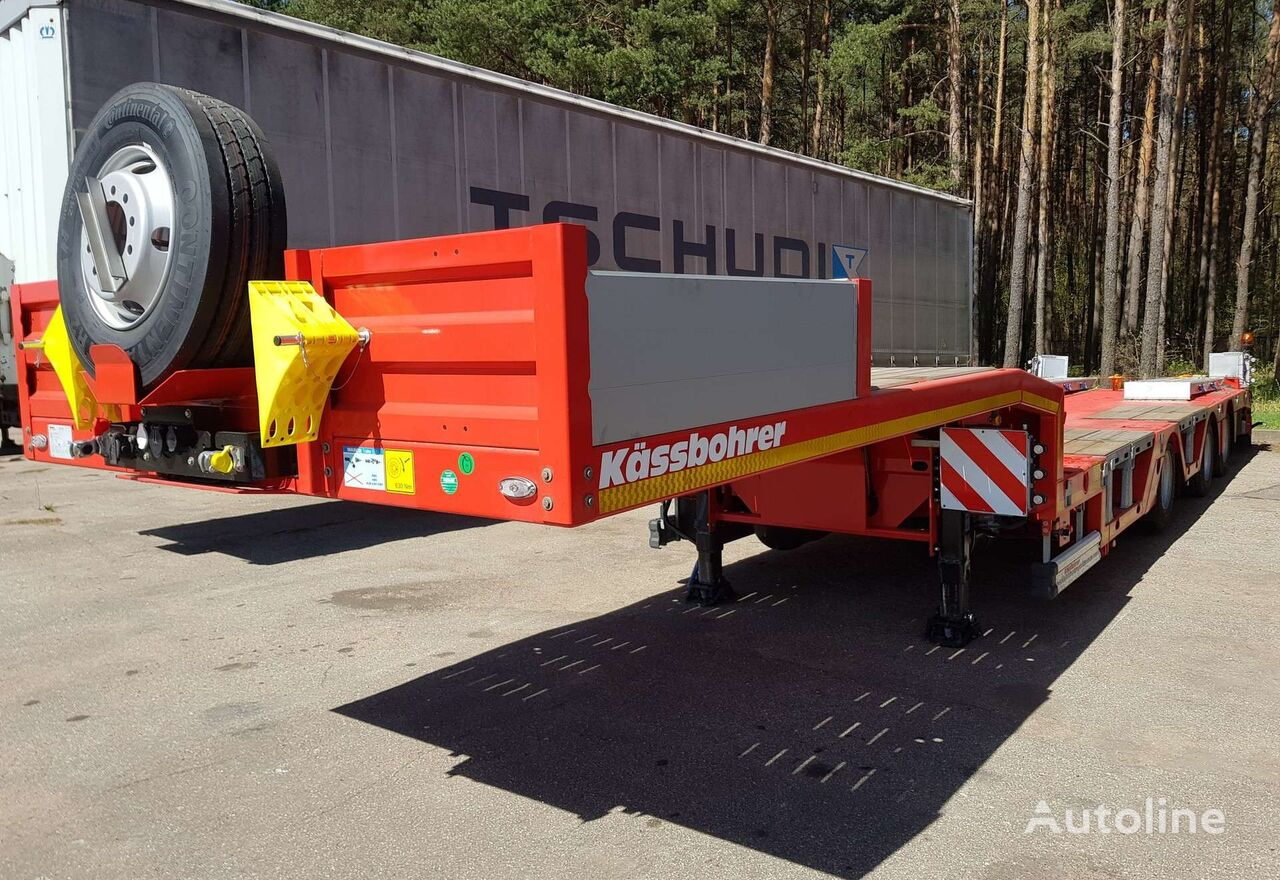 KASSBOHRER K.SLA R 3 low bed semi-trailer