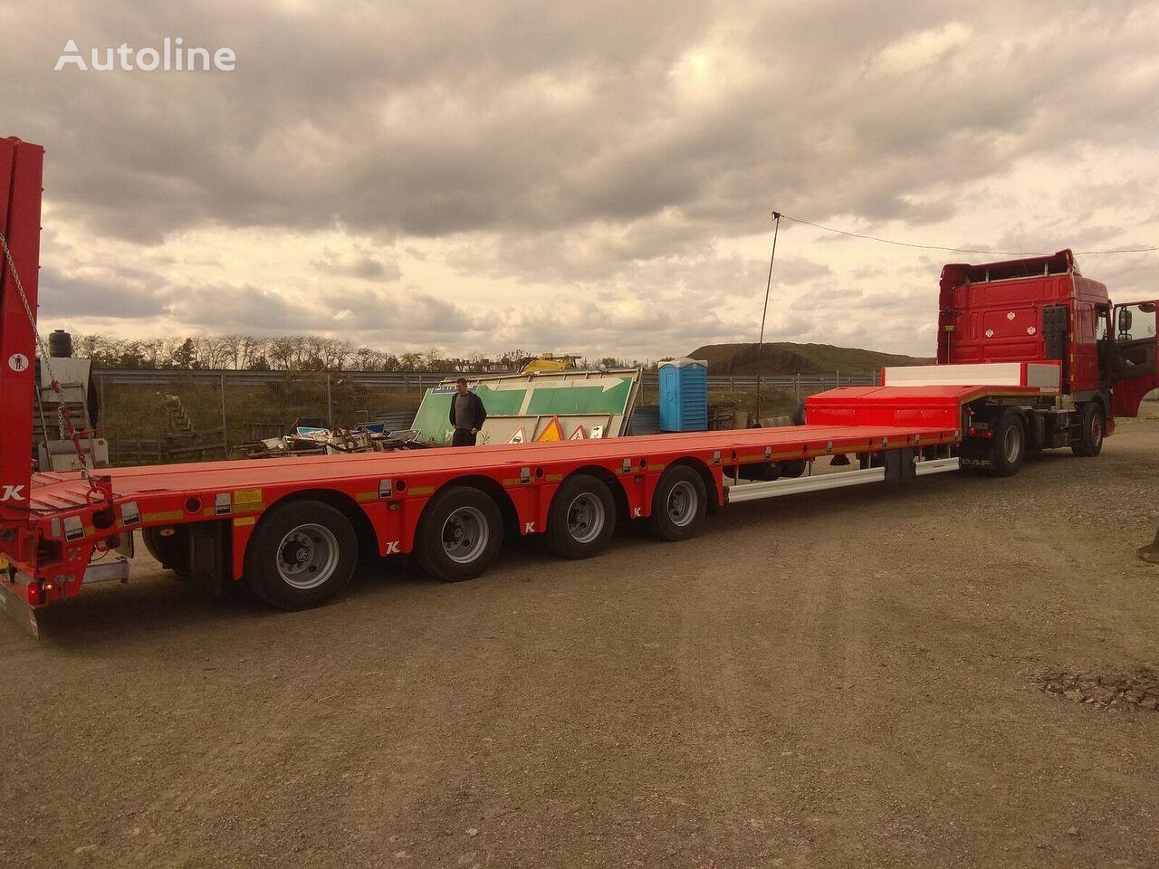 new KASSBOHRER LB4E low bed semi-trailer